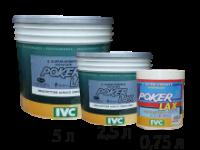 Акриловая краска Poker Lax 0,75л bianco