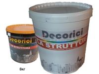 Декоративная штукатурка с волокном La Struttura 8 кг
