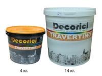 Декоративная штукатурка Travertino 4 кг